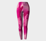Pink Petal Leggings Front