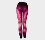 Illuminated Rose Leggings Back