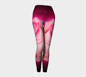 Illuminated Rose Leggings by Van Isle Goddess