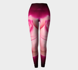 Illuminated Rose Leggings Front