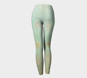Island Goddess Leggings Back