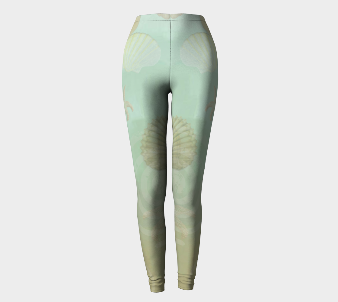 Island Goddess Leggings Front