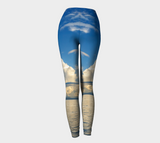 Qualicum Beach Leggings Back