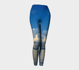 Qualicum Beach Leggings by Van Isle Goddess of Vancouver Island