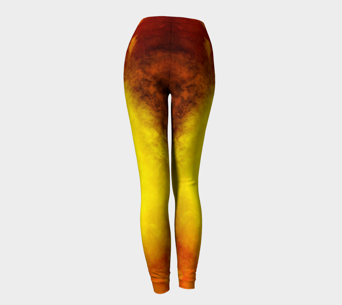 Sunrise Leggings Back