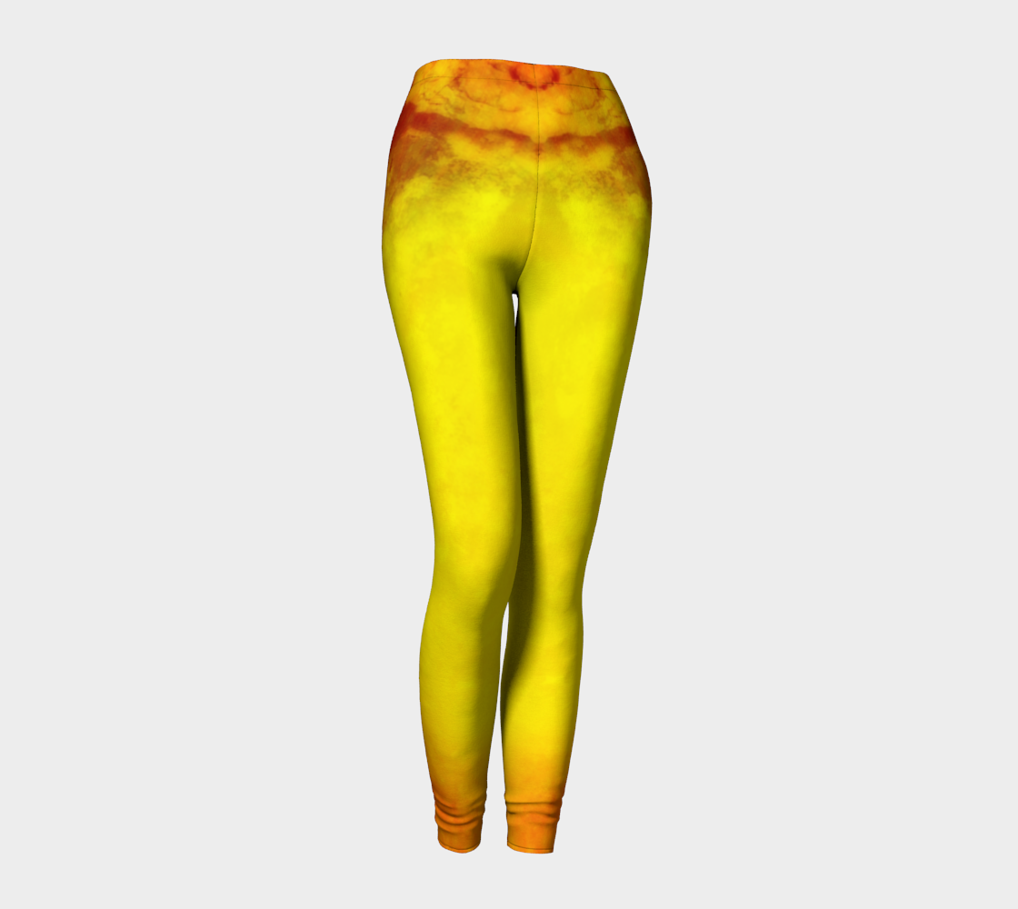 Sunrise Leggings by Van Isle Goddess of Vancouver Island