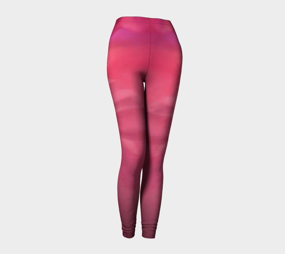 Soft Rose Leggings by Roxy Hurtubise front