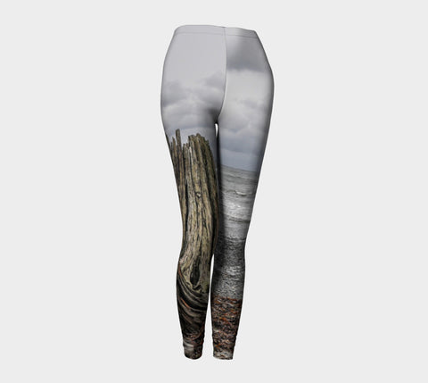 Gray Day Leggings by Roxy Hurtubise front