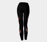 Sun Mask Medallion Leggings by Roxy Hurtubise back