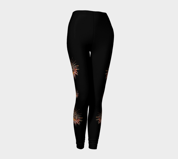 Sun Mask Medallion Leggings by Roxy Hurtubise front