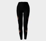 Sun Mask Medallion Leggings by Roxy Hurtubise full front