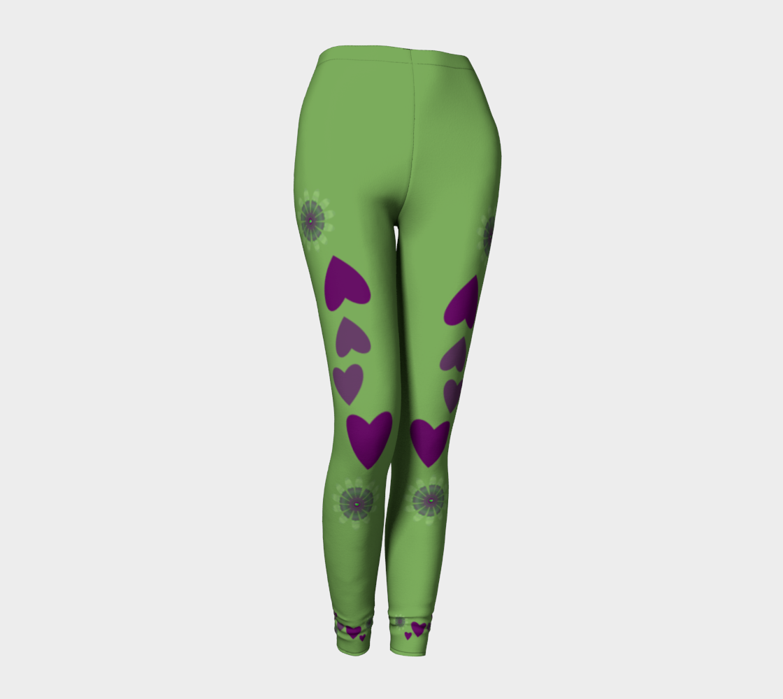 Heart Centered Leggings by Roxy Hurtubise front