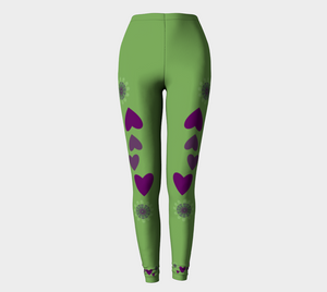 Heart Centered Leggings by Roxy Hurtubise full front