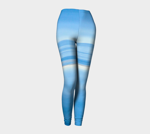 Ocean Blue Leggings by Roxy Hurtubise front