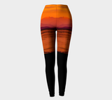 Saratoga Sunset II Leggings by Roxy Hurtubise full front