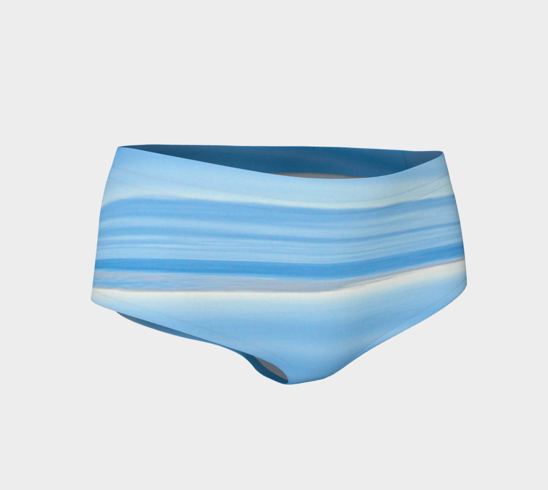 Ocean Blue Mini Shorts by Roxy Hurtubise vanislegoddess.com front