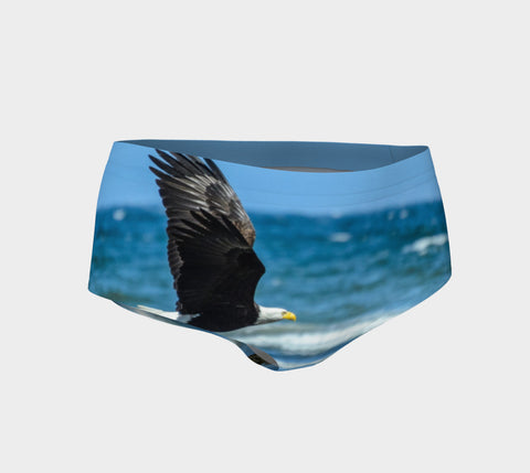 Fly Like An Eagle Mini Shorts by Roxy Hurtubise vanislegoddess.com front
