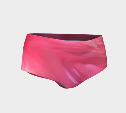 Soft Rose Mini Shorts by Roxy Hurtubise vanislegoddess.com front