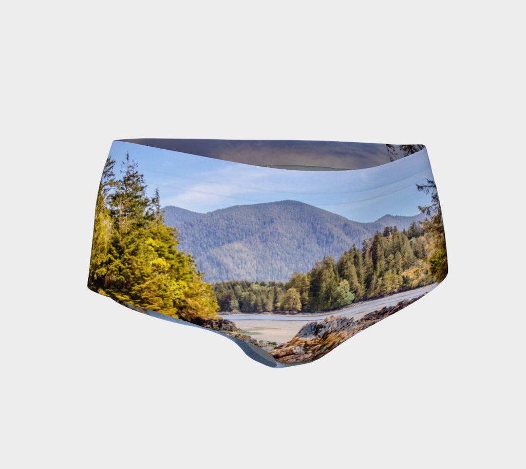 Tofino Inlet Mini Shorts by Roxy Hurtubise vanislegoddess.com front