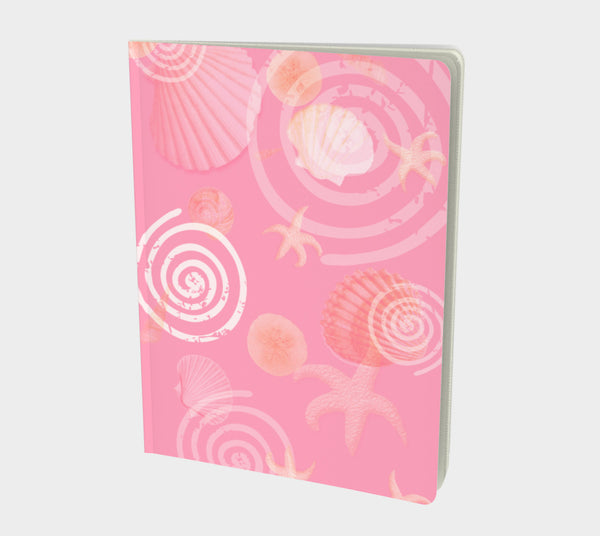 Island Goddess Rose Notebook Large Hand-bound   48 pages  Rich creamy white 70lb acid free paper  Scuff resistant Velvet ultra matte laminate cover  Two sizes to choose from by Roxy Hurtubise vanislegoddess.com