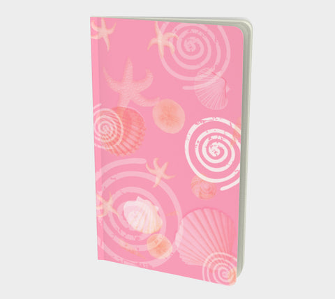 Island Goddess Rose II Notebook Small Hand-bound   48 pages  Rich creamy white 70lb acid free paper  Scuff resistant Velvet ultra matte laminate cover  Two sizes to choose from by Roxy Hurtubise vanislegoddess.com