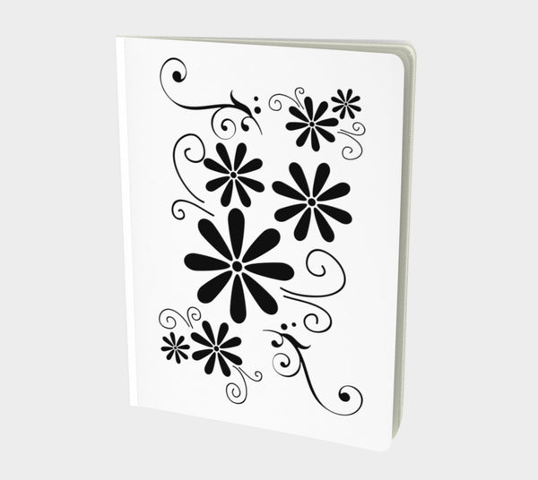 Life Notebook Large  Hand-bound   48 pages  Rich creamy white 70lb acid free paper  Scuff resistant Velvet ultra matte laminate cover  Two sizes to choose from by Roxy Hurtubise vanislegoddess.com