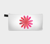 Reverse Side Activated In White II Pencil Case by Roxy Hurtubise