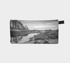 Big Beach Ucluelet Pencil Case by Roxy Hurtubise vanislegoddess.com