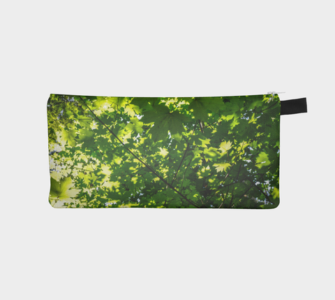Canopy of Leaves Pencil Case by Roxy Hurtubise vanislegoddess.com