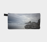 Reverse side Cox Bay Afternoon Pencil Case by Roxy Hurtubise vanislegoddess.com