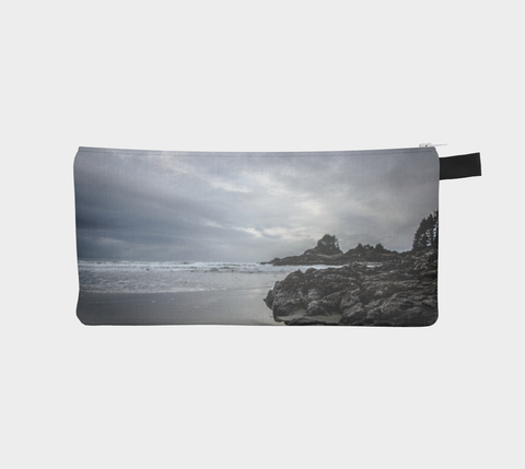 Cox Bay Afternoon Pencil Case by Roxy Hurtubise vanislegoddess.com