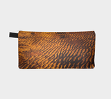 Reverse side Golden Sand Pencil Case by Roxy Hurtubise Vanislegoddess.com