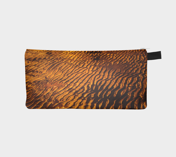 Golden Sand Pencil Case by Roxy Hurtubise Vanislegoddess.com
