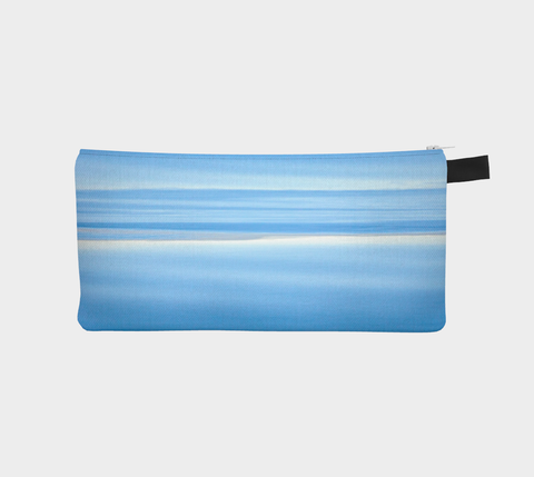 Ocean Blue Pencil Case by Roxy Hurtubise vanislegoddess.com