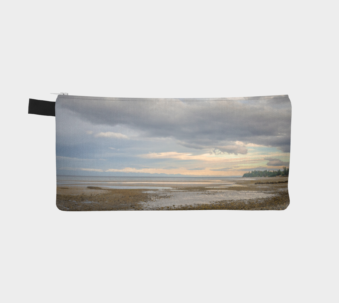 Reverse side Miracle Beach Pencil Case by Roxy Hurtubise vanislegoddess.com