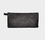 Reverse side Hearts In The Night Pencil Case by Roxy Hurtubise vanislegoddess.com