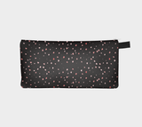Hearts In The Night Pencil Case by Roxy Hurtubise vanislegoddess.com