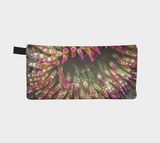 Reverse side Enchanted Sea Anemone Pencil Case by Roxy Hurtubise vanislegoddess.com
