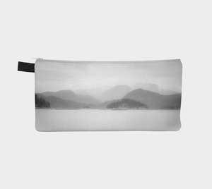 Reverse side Pacific Mist Pencil Case by Roxy Hurtubise vanislegoddess.com