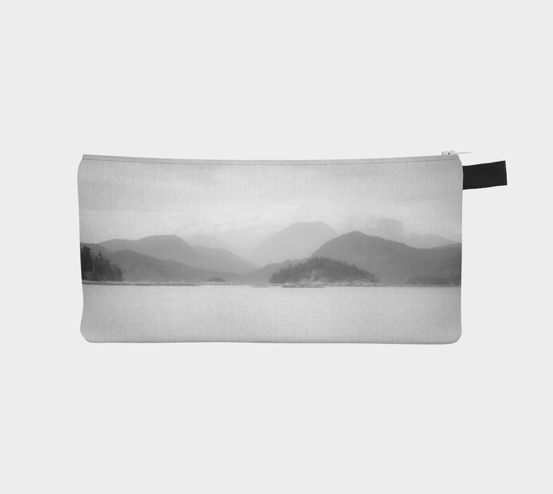 Pacific Mist Pencil Case by Roxy Hurtubise vanislegoddess.com