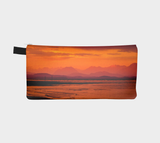 Saratoga Sunset multi use storage pencil case by Roxy Hurtubise reverse side