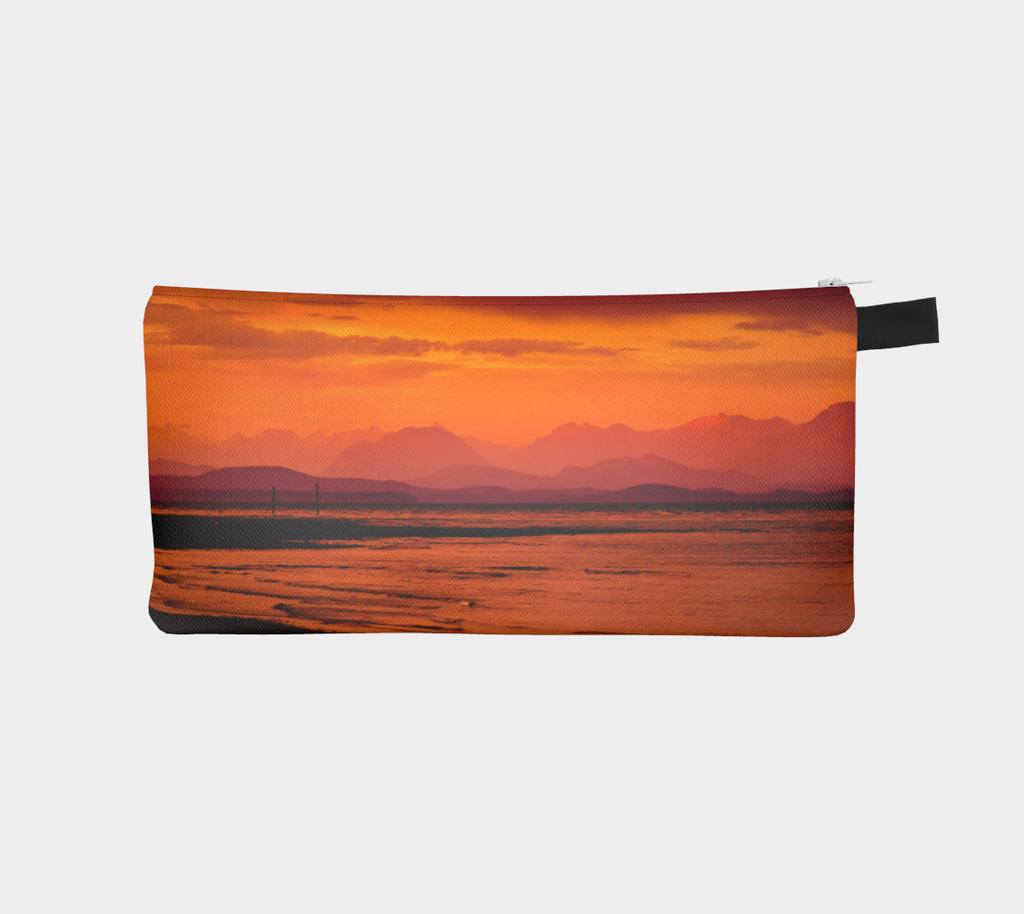 Saratoga Sunset multi use storage pencil case by Roxy Hurtubise vanislegoddess.com