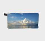 Qualicum Beach multi use storage pencil case by Roxy Hurtubise reverse side