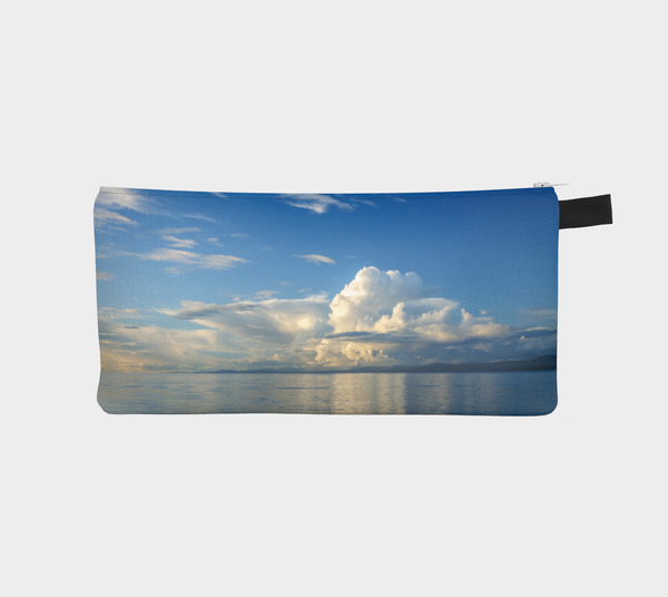 Qualicum Beach multi use storage pencil case by Roxy Hurtubise Vanislegoddess.com