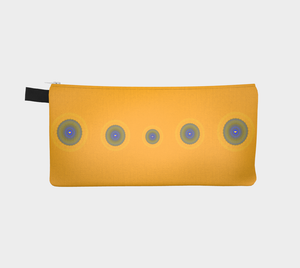 Sun Love multi use storage pencil case by Roxy Hurtubise vanislegoddess.com reverse side