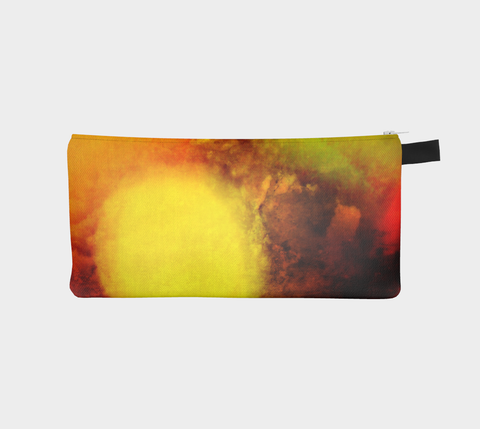 Sunrise multi use storage pencil case by Roxy Hurtubise vanislegoddess.com