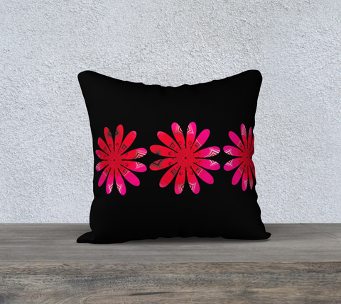 "Activated 18"" x 18"" Pillow Case by Roxy Hurtubise"