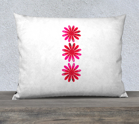"Activated in White 26"" x 20"" Pillow Case by Roxy Hurtubise"