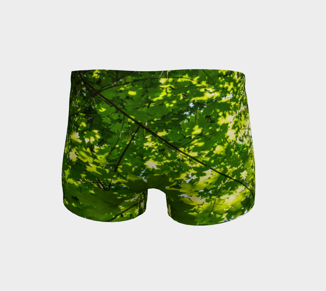 Canopy of Leaves Shorts Back
