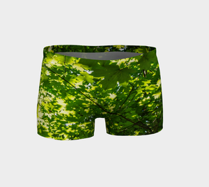 Canopy of Leaves Shorts Front